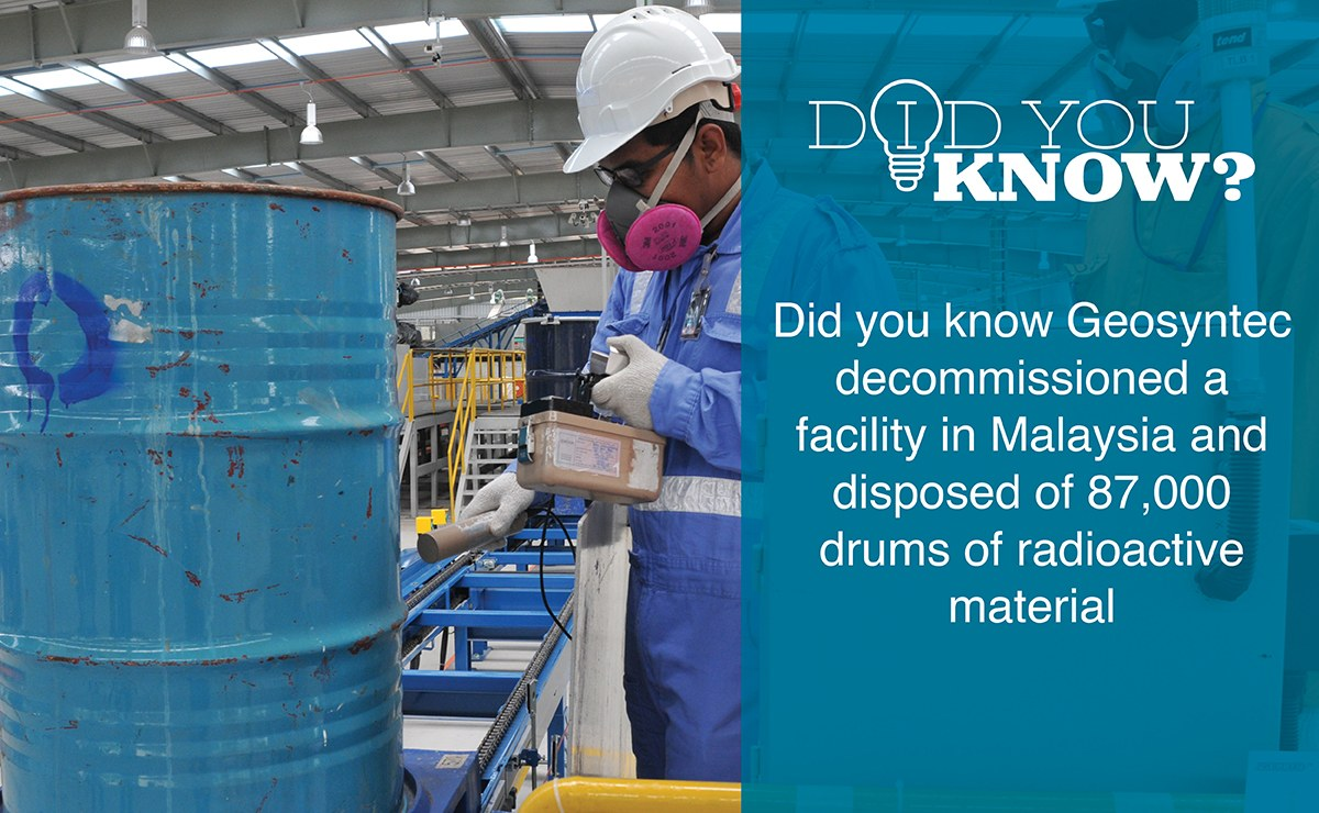 Decommissioning and Disposal of Former Rare Earth Processing Facility