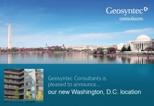 Geosyntec Announces New Location in Washington, D.C.