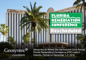 Geosyntec Presents at Rescheduled Florida Remediation Conference