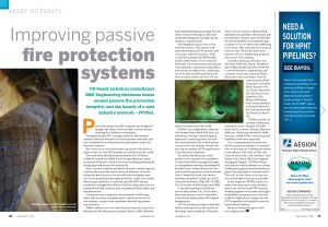 Improving Passive Fire Protection Systems Article Published in Offshore Engineer