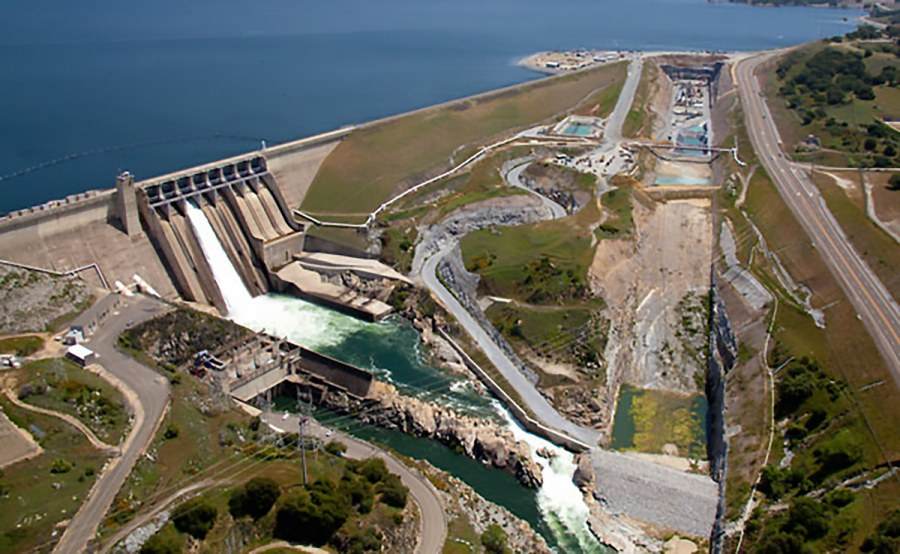 Folsom Dam Data Import and Progress Drawings