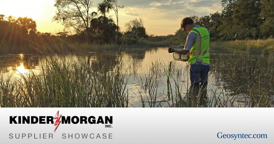 Geosyntec to Attend Kinder Morgan's Supplier Showcase