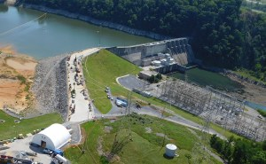 Boone Dam 3-D Geospatial Model