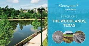 Geosyntec Announces New Office Location in The Woodlands, Texas