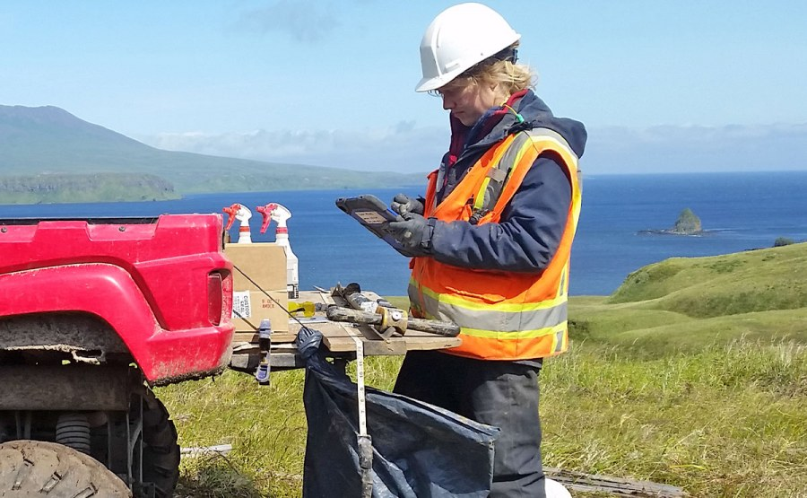 Geosyntec developed an iPad-based app to help automate a remedial investigation of former WWII-era military sites on Atka Island.