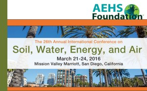 Geosyntec Staff Present at AEHS Soil, Water, Energy, and Air Conference