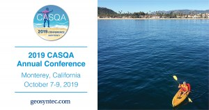Geosyntec Staff Featured at the 2019 CASQA Annual Conference
