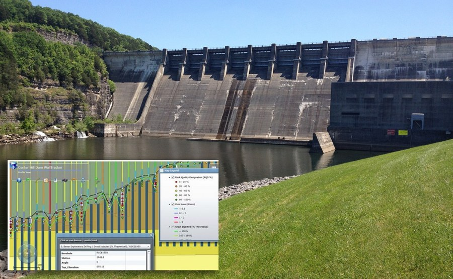 Dam Construction Information Management Systems