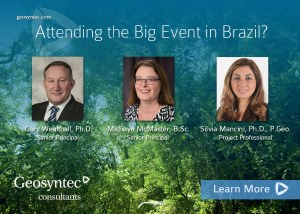 Geosyntec to Present at EKOS Brazil