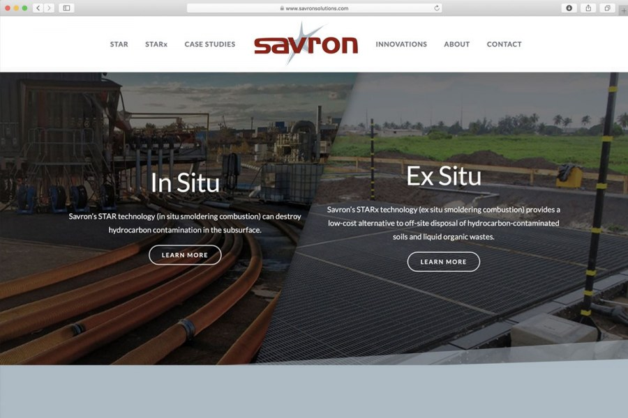 Savron Launches New Website