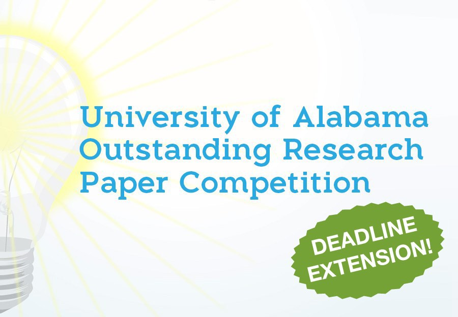 University of Alabama Outstanding Research Paper Competition